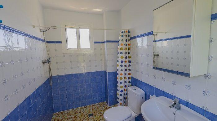 Chaparro-baño exterior
